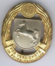 Ehrenzeichen für Verdienste im Feuerlöschwesen, 1954 2. Ausführung für 40 Jahre