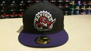 New Era NBA Toronto Raptors Team 2 Tone Old School Logo 59FIFTY Cap Hat NewEra