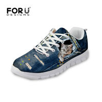 Fashion Breathable Casual Sneakers Running Shoes for Womens Trainers Tennis Shoe