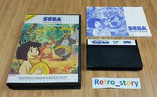 SEGA Master System Le Livre De La Jungle PAL