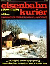 Eisenbahn Kurier EK Heft 1/1983 Bellingrodt 25 Jahre V 100 + Extertalbahn  (B7)