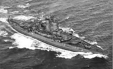 10 PHOTOS OF WORLD WAR II ERA USN WARSHIPS-USS TENNESSEE, MISSISSIPPI, IDAHO etc