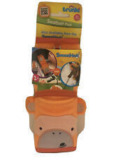 Trunki Children's Seat Belt Pad – SnooziHedz Mylo Monkey (Orange)