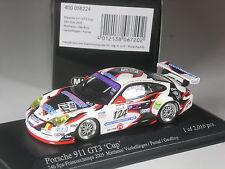 Premio especial: Minichamps Porsche 911 gt3 Cup 24h spa 2005 # 124 1:43 en OVP