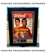 More details for cristiano ronaldo's 2003 debut interview – official manchester united – rare