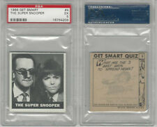 1966 Topps, Get Smart, #4 The Super Snooper, PSA 5 EX
