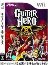 Used Wii Guitar Hero: Aerosmith  Nintendo JAPAN JP JAPANESE JAPONAIS IMPORT