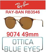Occhiali da Sole RAY BAN SUNGLASSES RB 3546 9074 49mm RAYBAN DOUBLE BRIDGE NEW