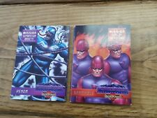 Marvel Overpower Card Game Complete 7 Set Mission Sins Future Anxiety Surge 1-7