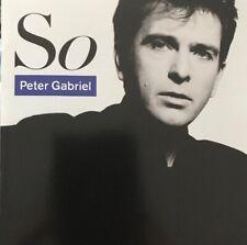 PETER GABRIEL SO CD GEFFEN 1986 EARLY USA PRESSING