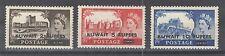 Kuwait  1955 Sc 117-9 QEII High Values Mint