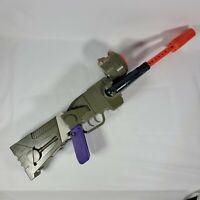 RARE Vintage 1992 Mattel Rogun Go Bots Blazer  Rifle Cap Gun TRANSFORMER ROBOT