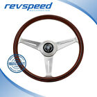 NARDI Italy ND Steering Wheel Classic Classico Wood Polished Spokes 360mm