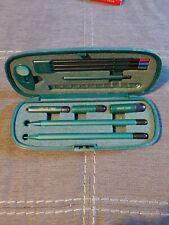 Vintage Sensi Write Man Pen & Pencil Kit Writing Instruments 12 Pieces Japan