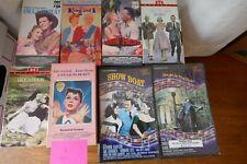 Lot 8 Classic Musicals VHS 1950s- MacRae,Brynner,Gaynor,Kelly,+