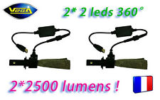 Kit VEGA® G5 FULL LED 2 Ampoules H7 360° Couleur Xénon 6000K Plug&Play