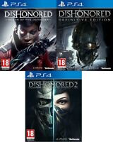 Dishonored PS4 - MINT - Same Day Dispatch via Super Fast Delivery