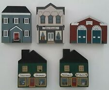 The Cats Meow Village. Lot of 5. 1984 -1985.