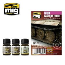 Ammo by Mig Weathering Set - Eastern Front Mud Set A.MIG-7408
