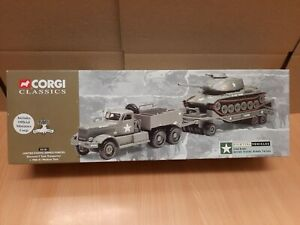 Corgi Classics 55101 USAF Diamond T Tank Transporter + M60 A1 Medium Tank LIM ED