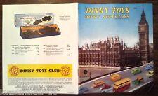 Vintage Lieferprogramm / Prospekt 1958 : DINKY TOYS