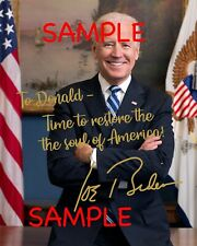 President-Elect Joe Biden Customized Photo - Free Shipping!