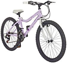 Pazzaz 24 Inch Wheels V-Brakes 18 Speed V-Brakes Diamond Rigid Suspension Bike