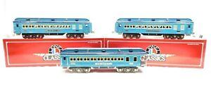 Lionel 6-13408 Standard Guage Classics 1400 Series Blue Comet Passenger set NIB