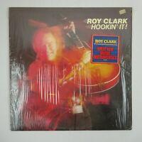 Roy Clark Vinyl LP Hookin' It!