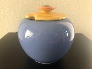Lindt Stymeist Pottery Lidded Honey Pot Condiment Sugar Dish Bowl