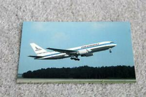 PIEDMONT AIRLINES BOEING 767-200 AIRCRAFT POSTCARD