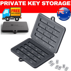 ⭐️ Metal Seed Key Storage Device Crypto Wallet Seed Backup private key storage