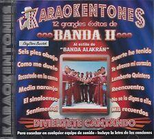 Banda Alakran Karaokentones Exitos De Banda 2 KARAOKE New SEALED