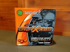 "1000 Count Factory Sealed Box Of ""Draxxus Competitive Series"" Paintballs"
