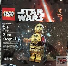 """C3PO #5002948 C-3PO RED ARM The Force Awakens STAR WARS 2"""" Inch Bagged LEGO"""
