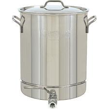 Bayou Classic Stainless Steel Spigot 10-gallon Stock Pot