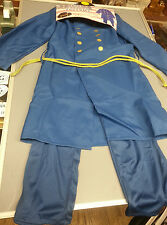 Children Civil War Union Officer Costume Uniform U S Size Medium