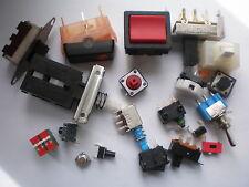 L106/ Sortiment 30 Stk.Taster  Drucktaster  Mikrotaster  Eingabetaster  Schalter