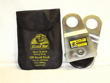 BLACK RAT 4WD RECOVERY SNATCH BLOCK OFF ROAD 4x4 *NEW*