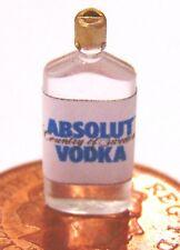 1:12 Scale Vodka Label On A Bottle Tumdee Dolls House Miniature Drink Accessory