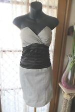 VINTAGE Style does 50'S ~ EF Collection ~ Strapless/Ruched ~ DRESS * Sz M * NWT*