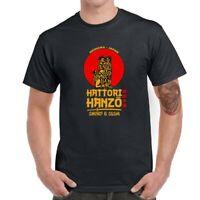Hattori Hanzo Men Short Sleeve Graphic T-Shirt Funny Tops Tee Shirts