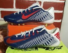 NIKE CARBON VAPOR ELITE TD FOOTBALL CLEATS SIZE 13.5 NAVY BLUE/WHITE 657441-413