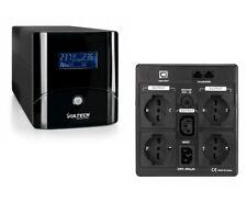 UPS 1500VA Line Interactive LCD - Gruppo di Continuità 1500 VA 4x Bipasso/ chuko