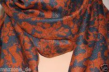 ☆ VIVIENNE WESTWOOD Schal, Tuch, Stola, scarf 70x180 floral Geschenkbox LP 219€