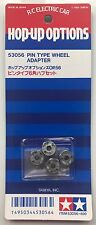 Tamiya 53056 Pin Type Wheel Adapter (TT01/TL01/TA01/TA03) NIP