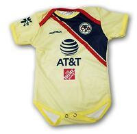 116bc574e Club America 2018 Soccer Home Jersey Baby One Piece Jumpsuite Mameluco