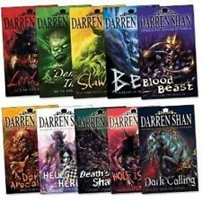 Darren Shan Demonata 10 Books Collection Set Pack (Darren Shan Collection) (Wolf