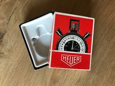 Caja HEUER Box - Stopwatch Contador - Red - Vintage - Swiss Relojes Watches