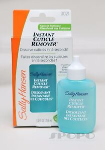 Sally Hansen Instant Cuticle Remover 29.5ml Dissolve Cuticles in 15 seconds#3021